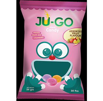 <span>Ju-Go</span> Assorted Fruits Hard Candy