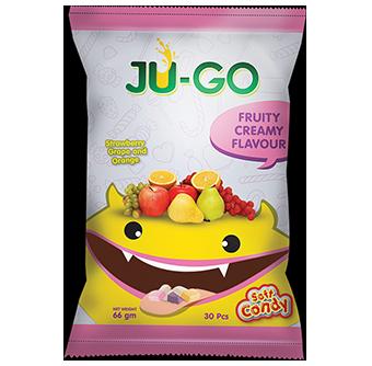 <span>Ju-Go</span> Fruity Creamy Soft Candy